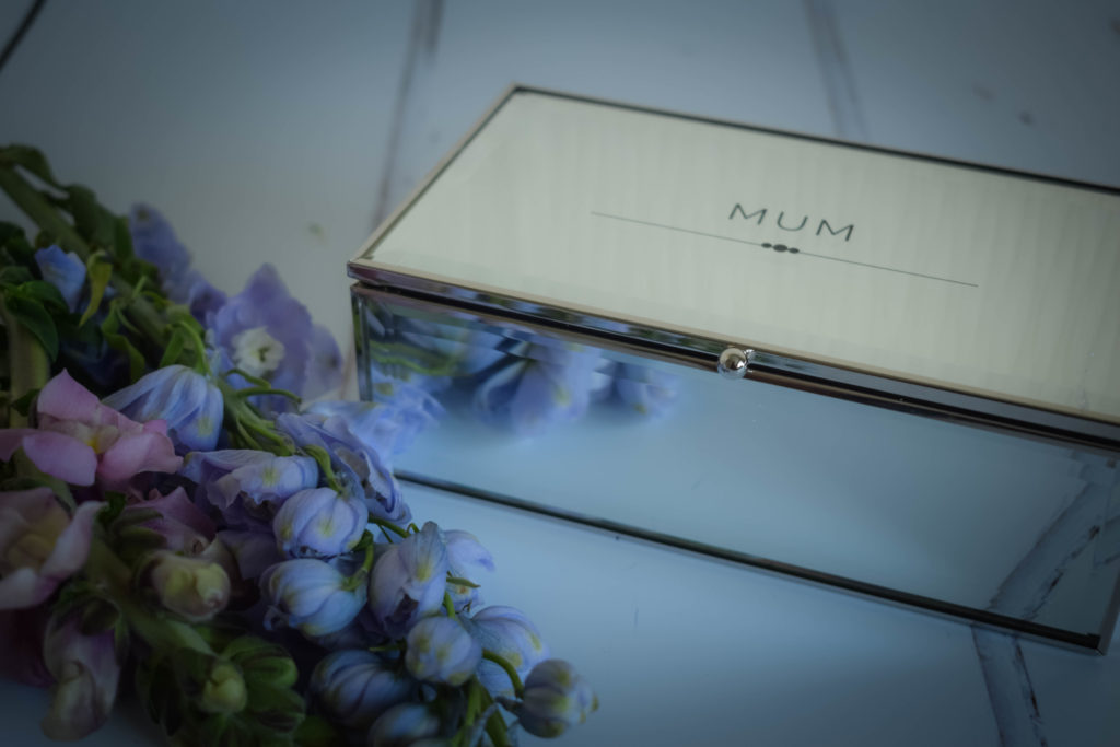 Mirrored Jewellery Box Mothers Day
