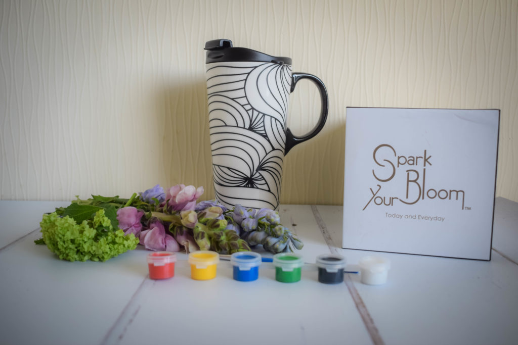 Spark Your Bloom Mandala Mug Mothers Day