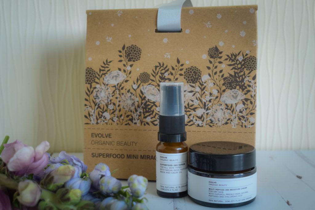 Evolve Organic Beauty Superfood Mini Miracles Gift Set Mothers Day