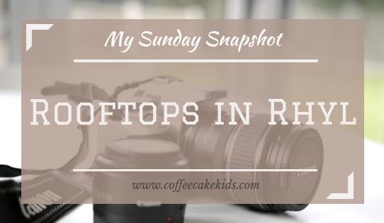 Rooftops in Rhyl