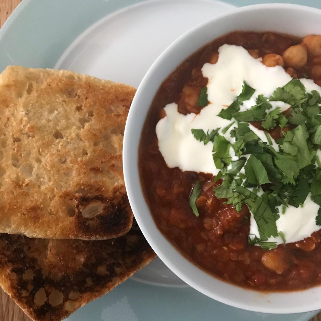 Moroccan Bean Stew