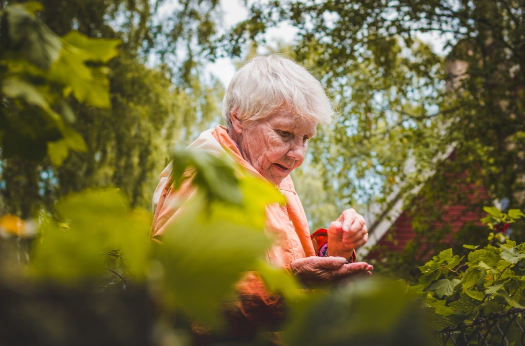shallow-focus-photo-of-woman-near-plants