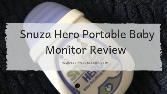 Snuza Hero portable baby monitor