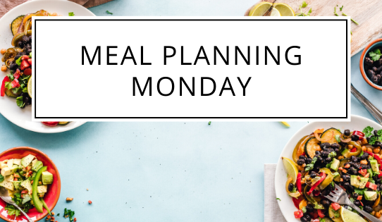 meal planning monday