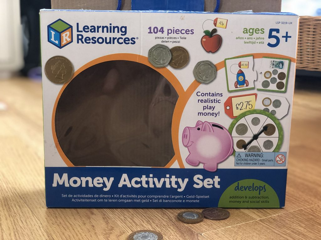 money activity set