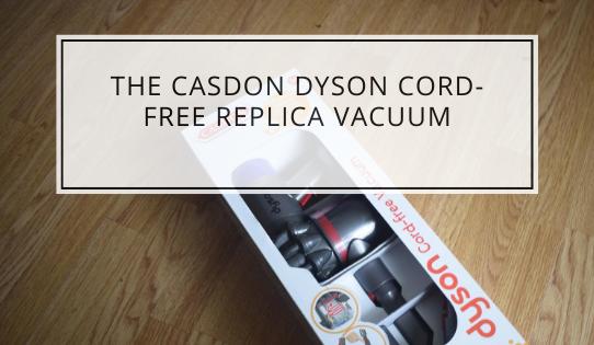 The Casdon Dyson Cord-Free Replica Vacuum