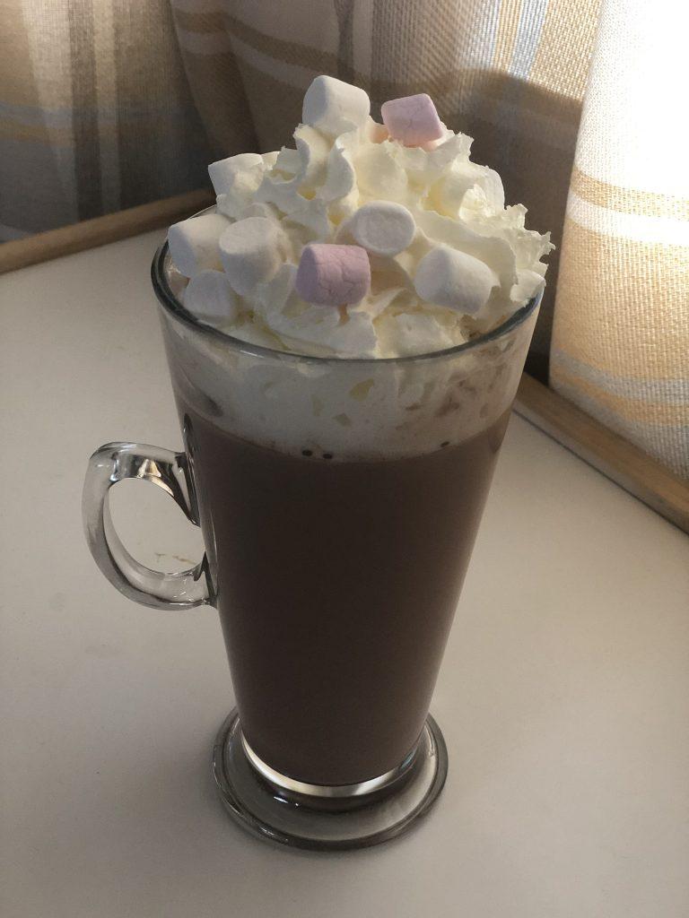 Slow Cooker Orange Hot Chocolate